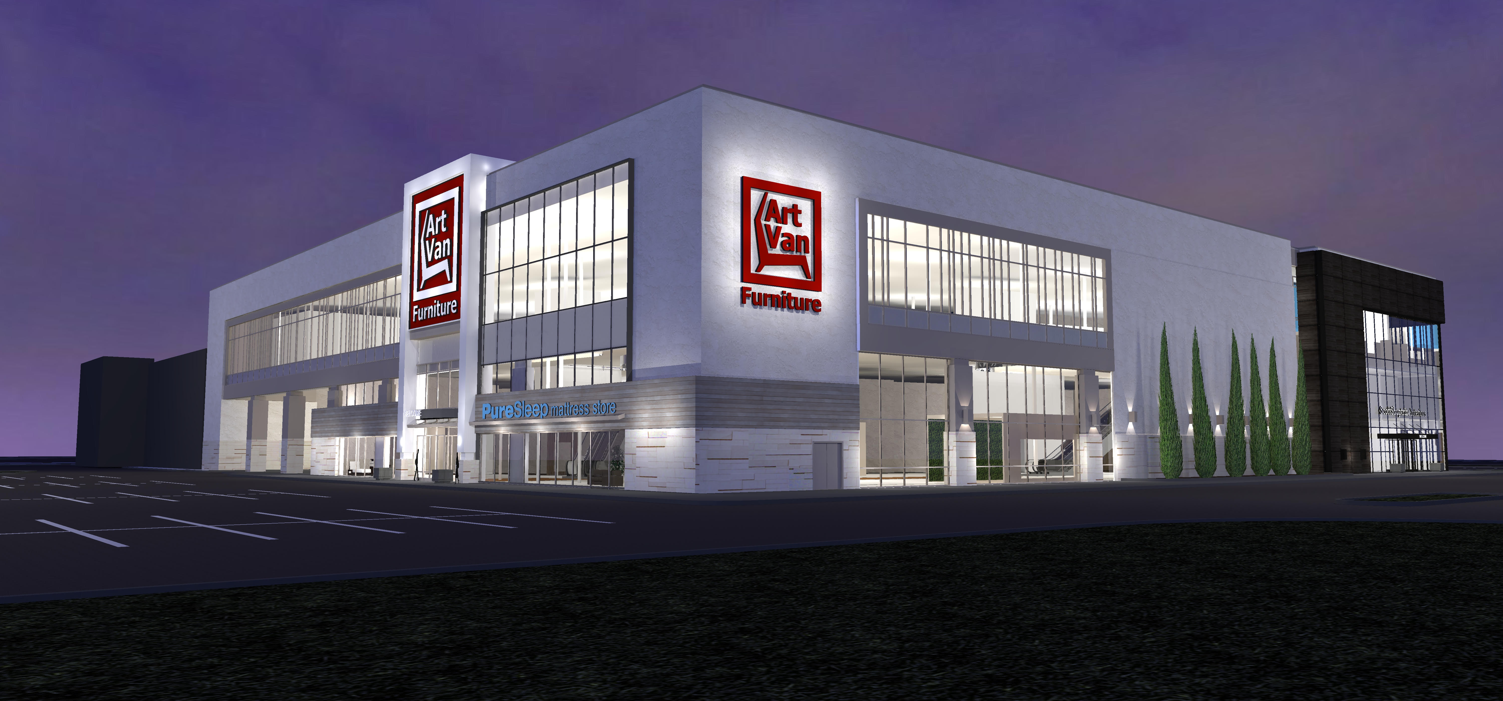 furniture store building. Art Van Furniture Largest Of New Stores Coming To Downers Grove Store Building O