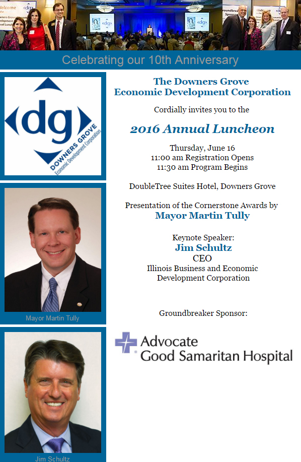 2016 Annual Lunch email